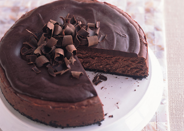 Deep dark chocolate cheesecake | 25+ Chocolate Lover Recipes