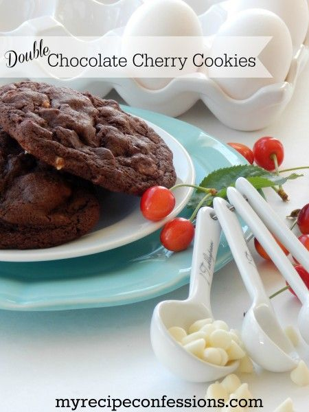 Double Chocolate Cherry Cookies | 25+ Chocolate Lover Recipes