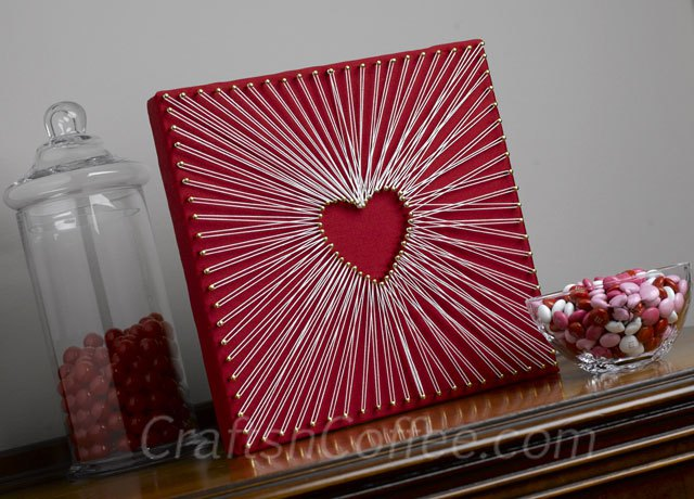 Easy, String-Art Heart