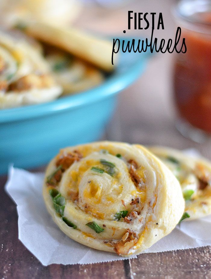 Fiesta Pinwheels | 25+ Game Day Foods
