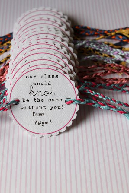 Friendship bracelet valentines - 25+ Creative Classroom Valentines - NoBiggie.net