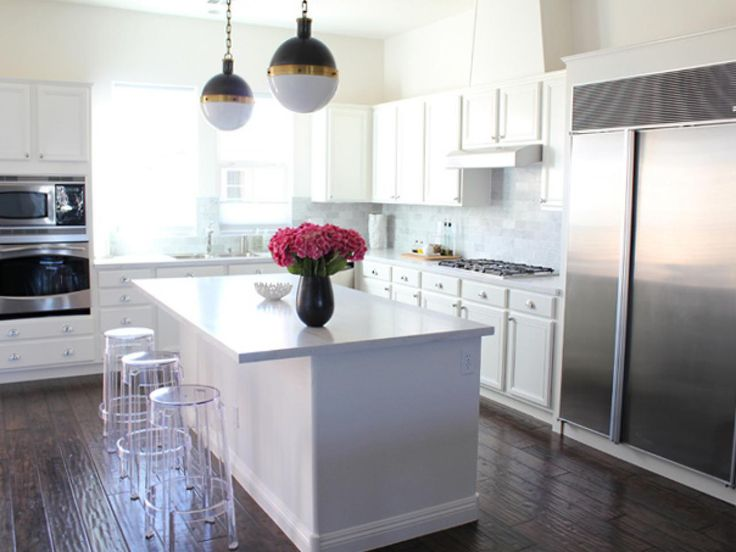Glam on a Budget | 25+ Dreamy White Kitchens