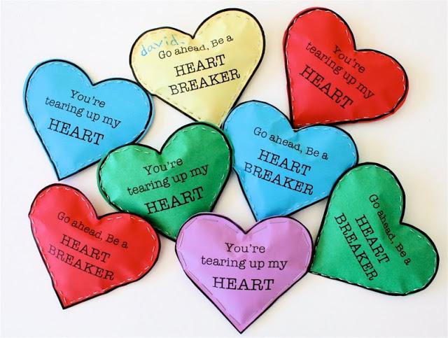 Heartbreaker Valentine - 25+ Creative Classroom Valentines - NoBiggie.net
