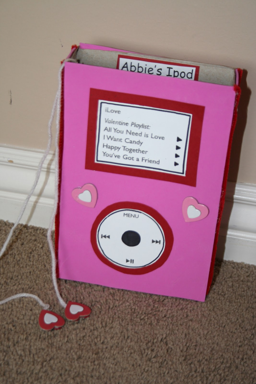 ipod valentine box - Valentines Boxes For Boys