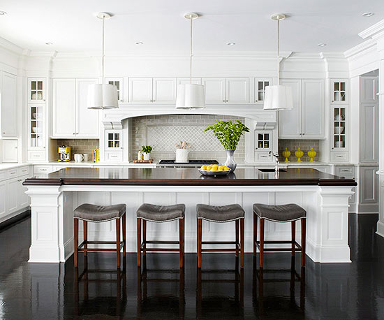 Kitchen cabinets in white | 25+ Dreamy White Kitchens