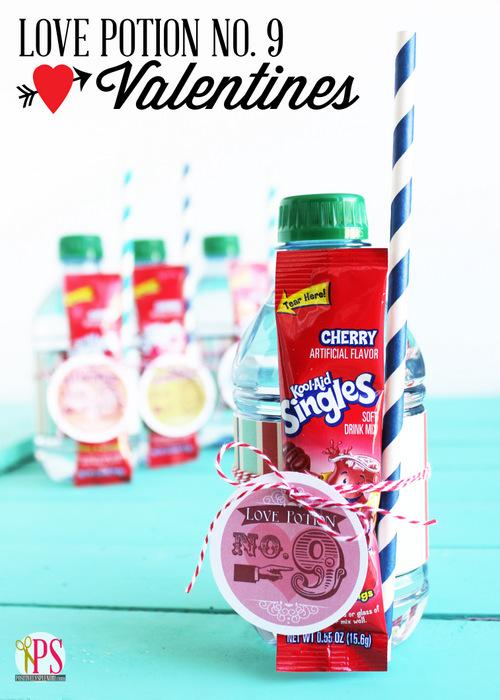 Love potion No. 9 valentines - 25+ Creative Classroom Valentines - NoBiggie.net