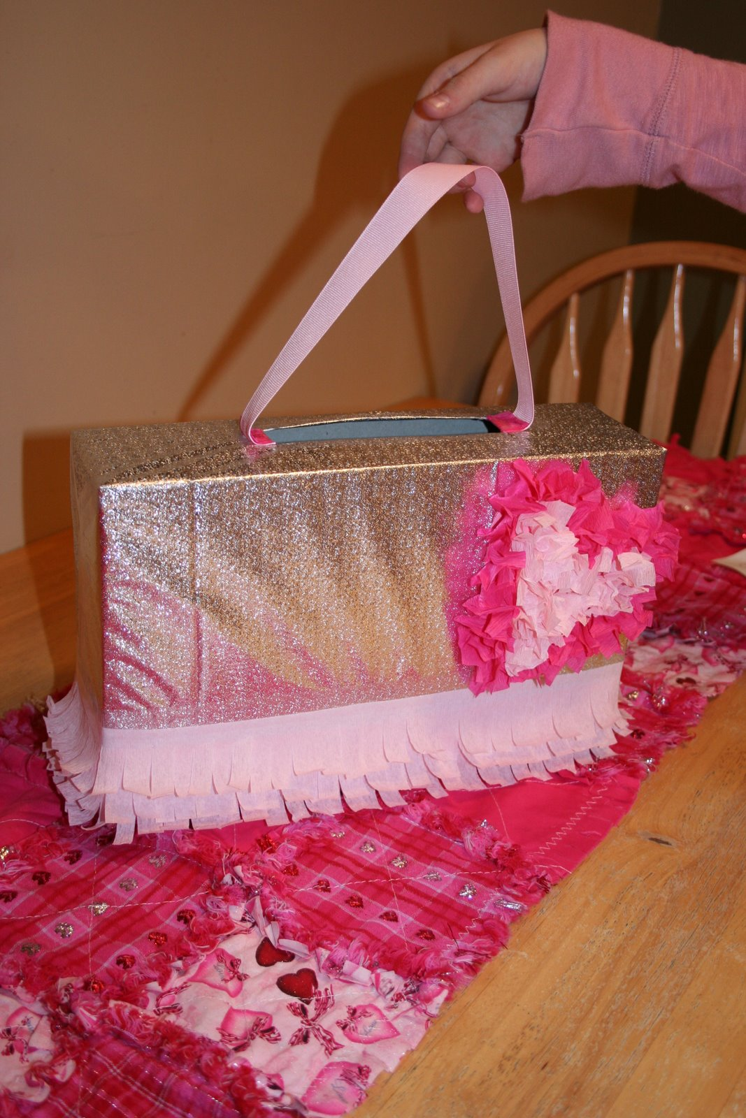 Purse Valentine Box