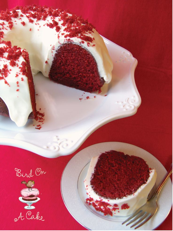 Red Velvet Bundt Cake | 25+ Red Velvet Recipes