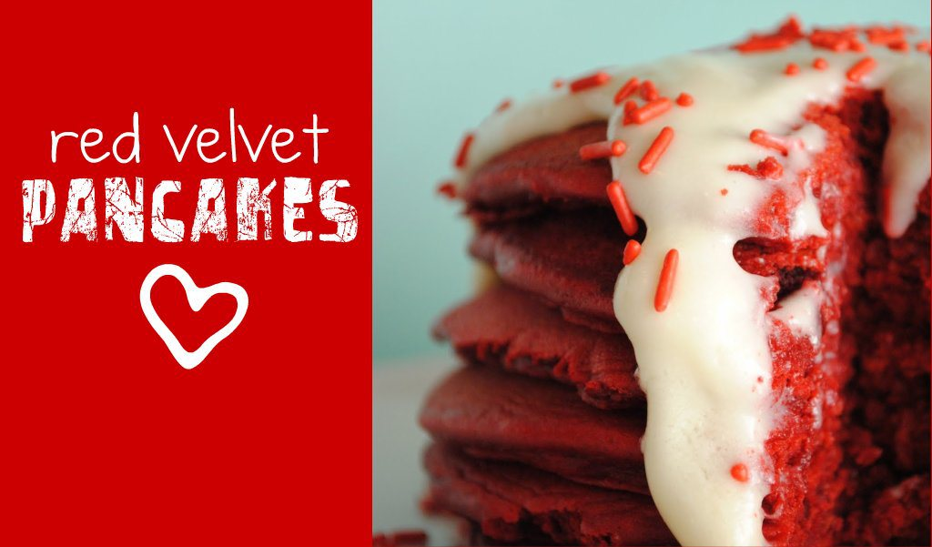 Red Velvet Pancakes | 25+ Red Velvet Recipes