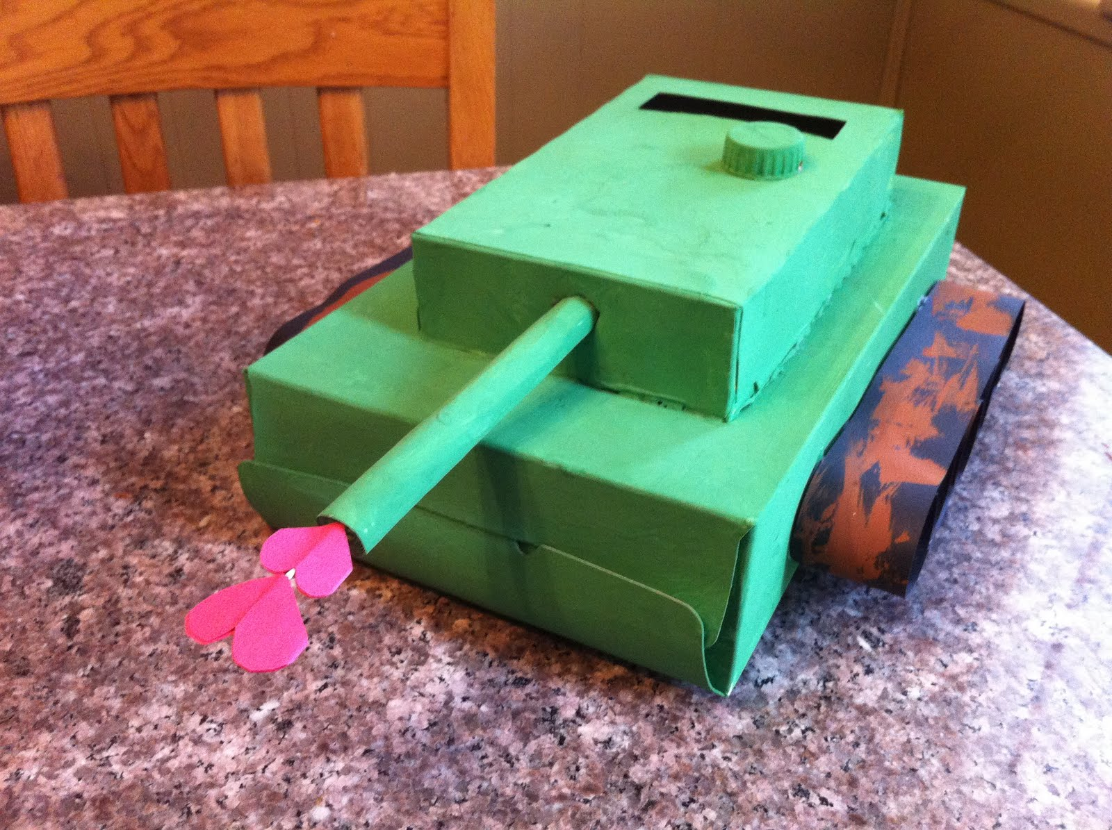 Tank Valentine Box : valentine day boxes for kids - Aboutintivar.Com