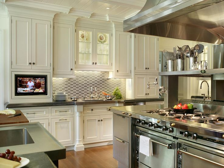Traditional Chef's Kitchen | 25+ Dreamy White Kitchens