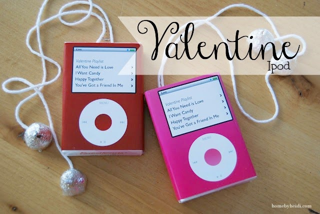 Valentine iPod printable