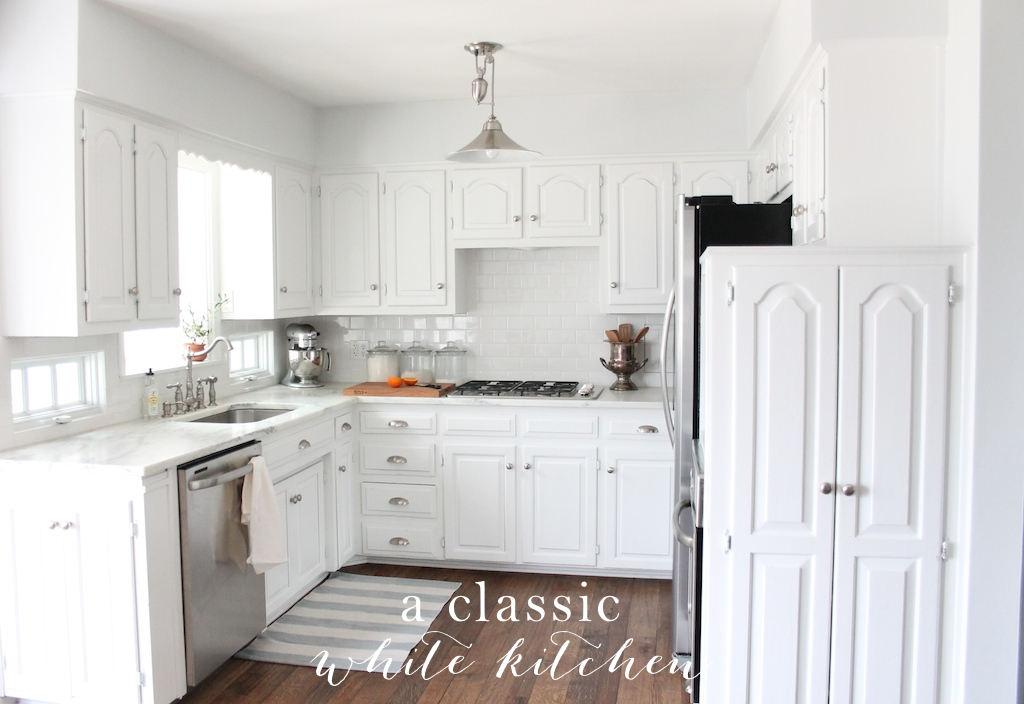 We did it! Our kitchen remodel | 25+ Dreamy White Kitchens