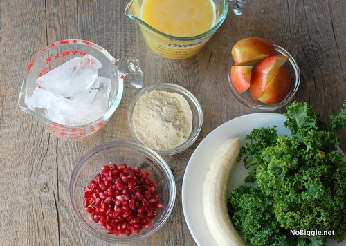 green smoothie ingredients | NoBiggie.net