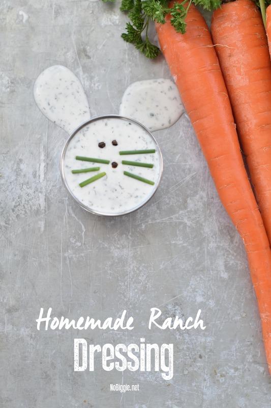 Homemade Ranch Dressing | NoBiggie.net