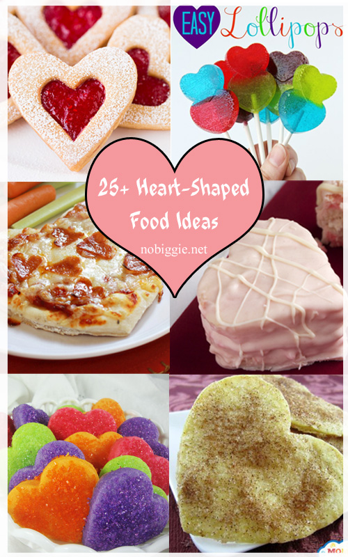 25+ Heart-Shaped Food Ideas | nobiggie.net