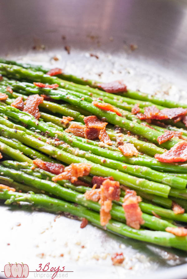 Bacon mustard asparagus 25+ Delicious Vegetable Side Dishes