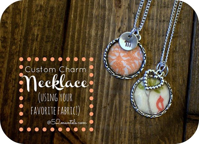 Custom Charm Necklace | 25+ Inexpensive DIY Birthday Gift Ideas for Women