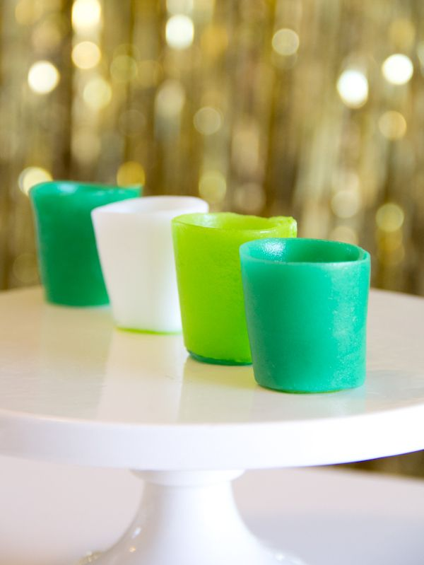 DIY Airheads Mini Cups | 25+ St. Patrick's Day ideas