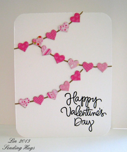 25 Easy DIY Valentines Day Cards – Hand Made Valentine Day Cards