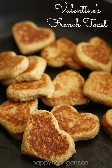 Heart Shaped French Toast 25+ Heart-Shaped Food Ideas | NoBiggie.net