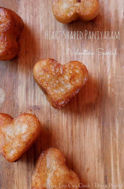 Heart Shaped Paniyaram 25+ Heart-Shaped Food Ideas | NoBiggie.net