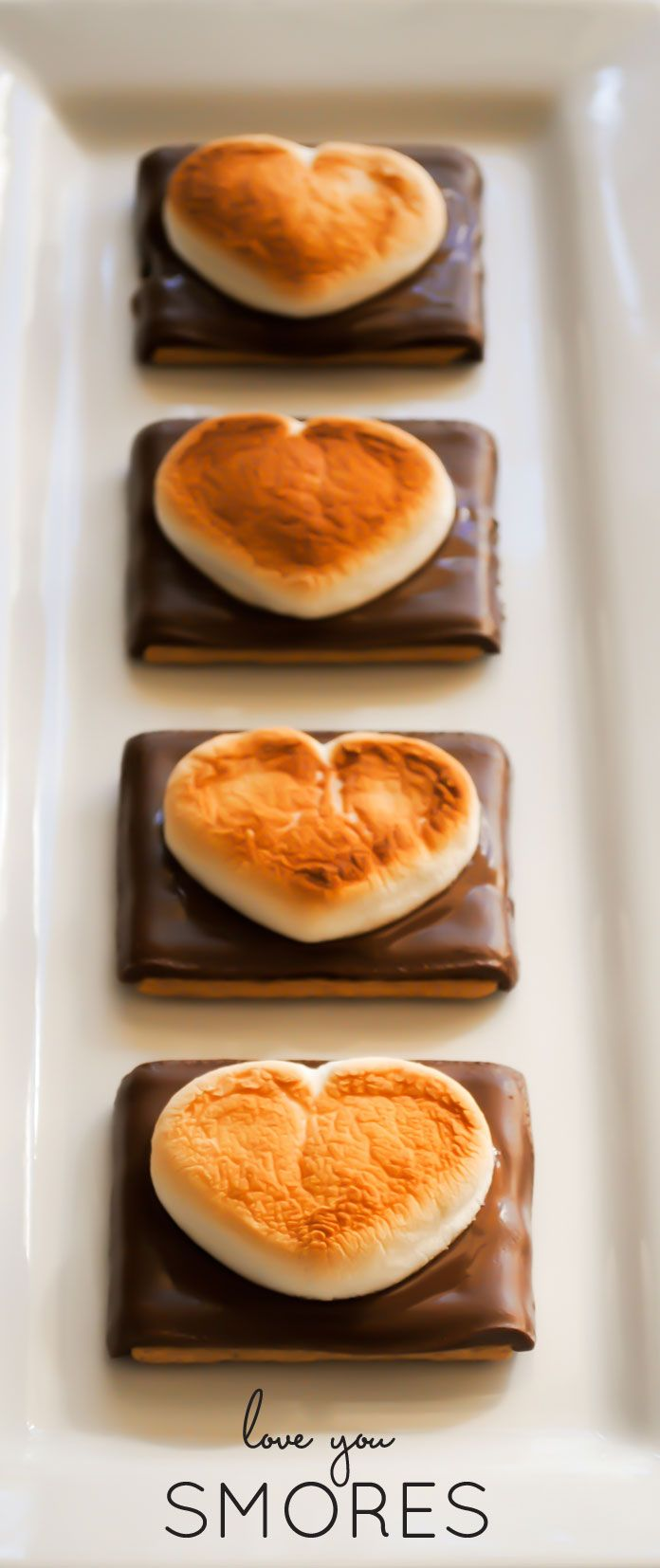 I Love You Smores 25+ Heart-Shaped Food Ideas | NoBiggie.net
