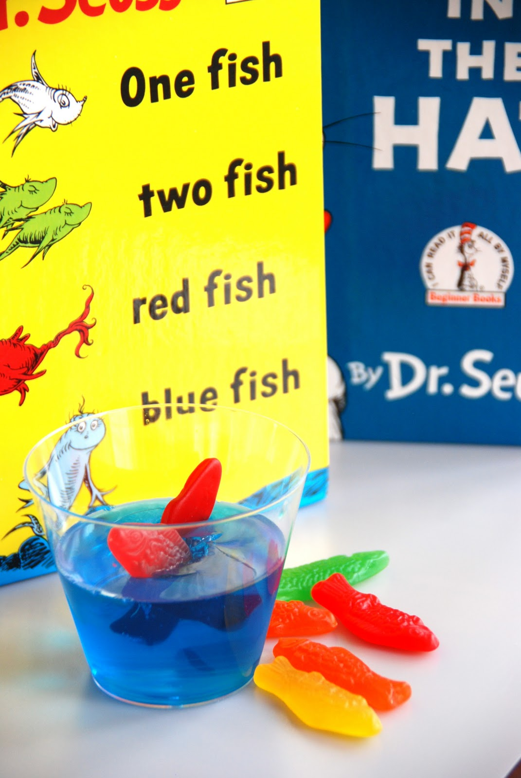 dr seuss one fish two fish party ideas