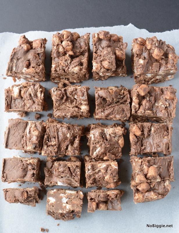 Quick and Easy Freezer Fudge | NoBiggie.net
