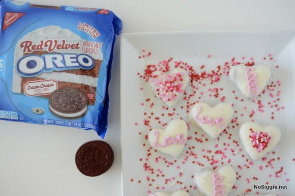 Red Velvet Oreo truffles | NoBiggie.net