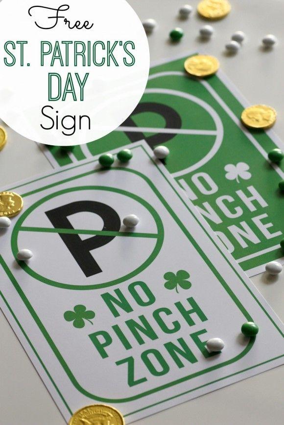 St. Patrick's Day Sign | 25+ St. Patrick's Day ideas