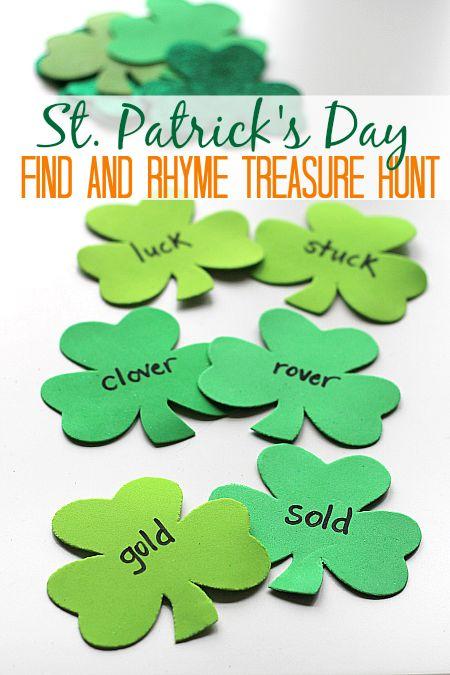 St. Patrick's Day Treasure Hunt | 25+ St. Patrick's Day ideas