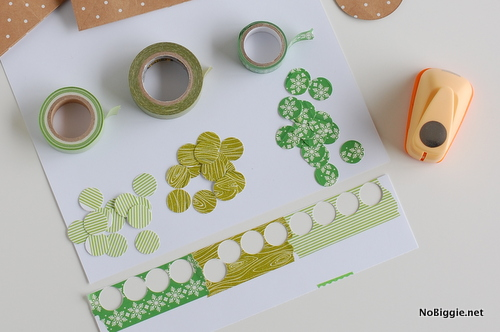 how to make washi tape party favors   NoBiggie.net