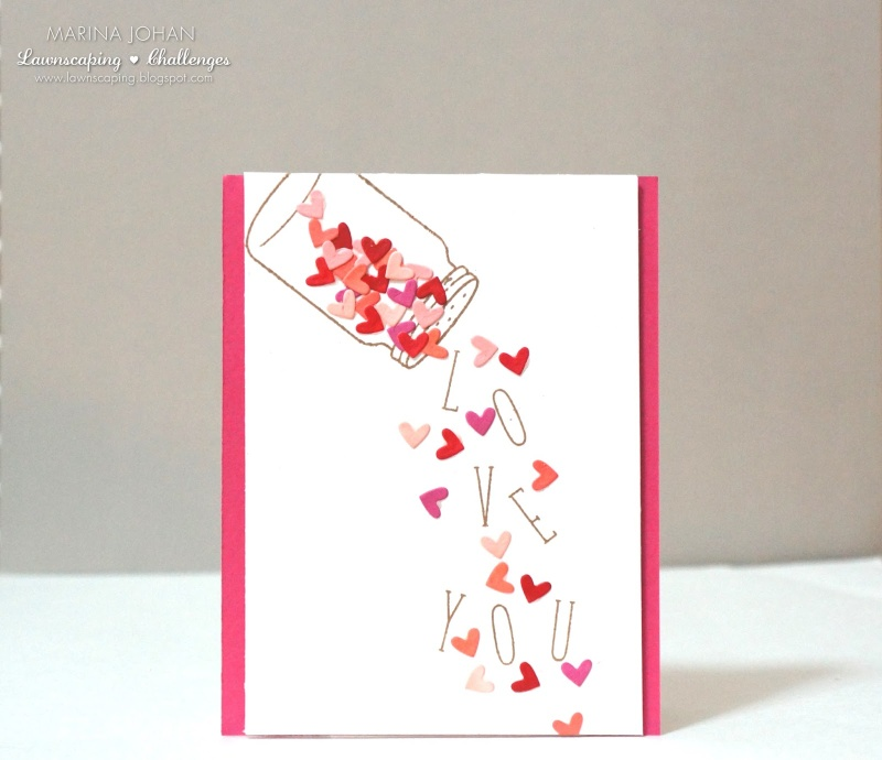 Love Card Making Ideas Part - 15: Sprinkled With Love Card