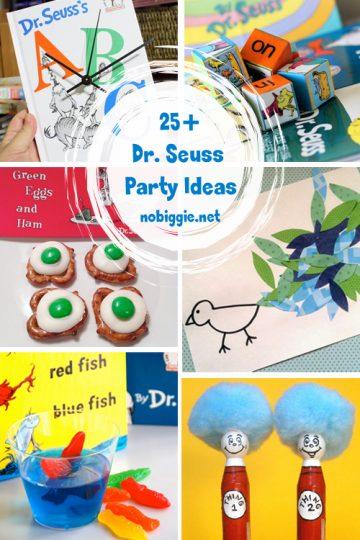 25+ Dr. Seuss Party Ideas