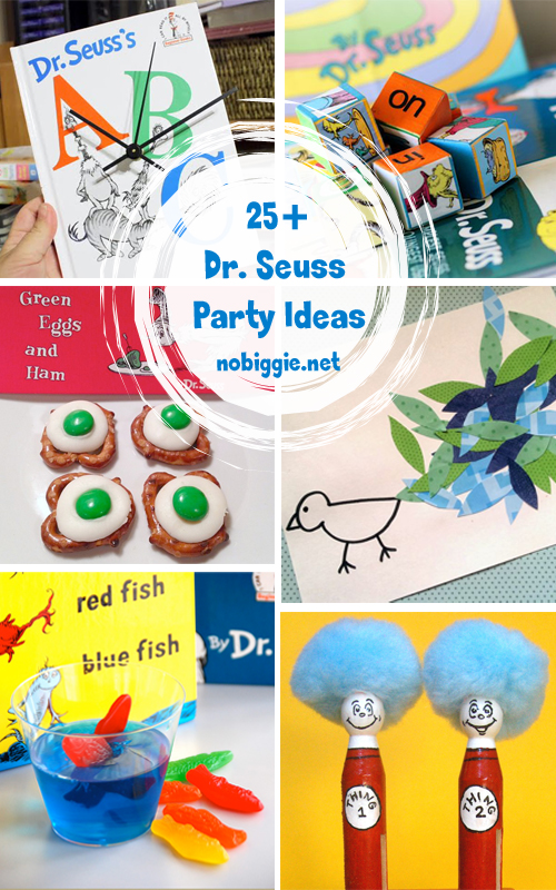 25 Dr Seuss Party Ideas