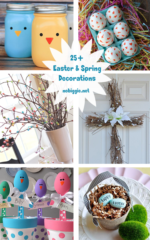 25+ Easter and Spring Decorations | NoBiggie.net