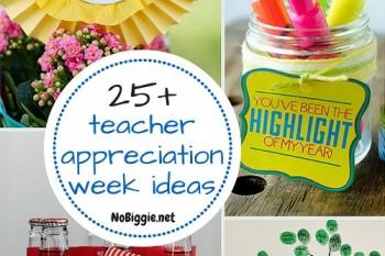25+ teacher appreciation week ideas