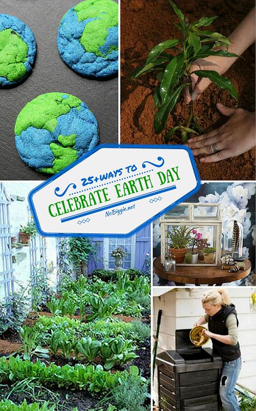 25+ ways to celebrate Earth Day | NoBiggie.net