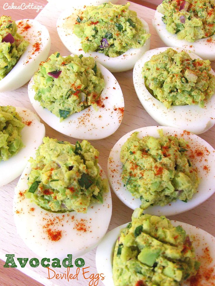 Avocado Deviled Eggs | 25+ Deviled Egg Recipes