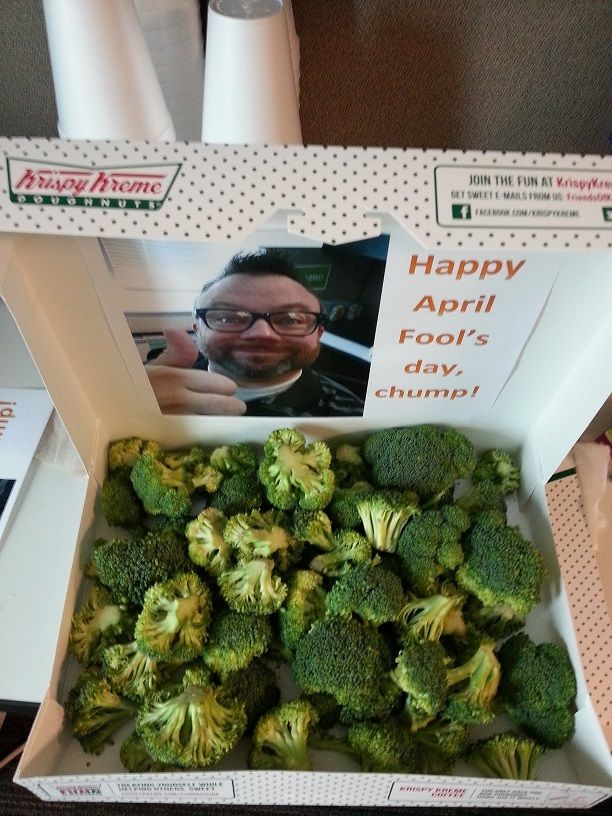 Broccoli Donuts | 25+ April Fools Day ideas