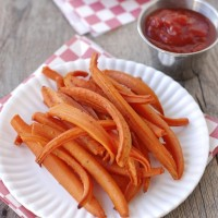 Carrot Fries! So good and so easy | NoBiggie.net