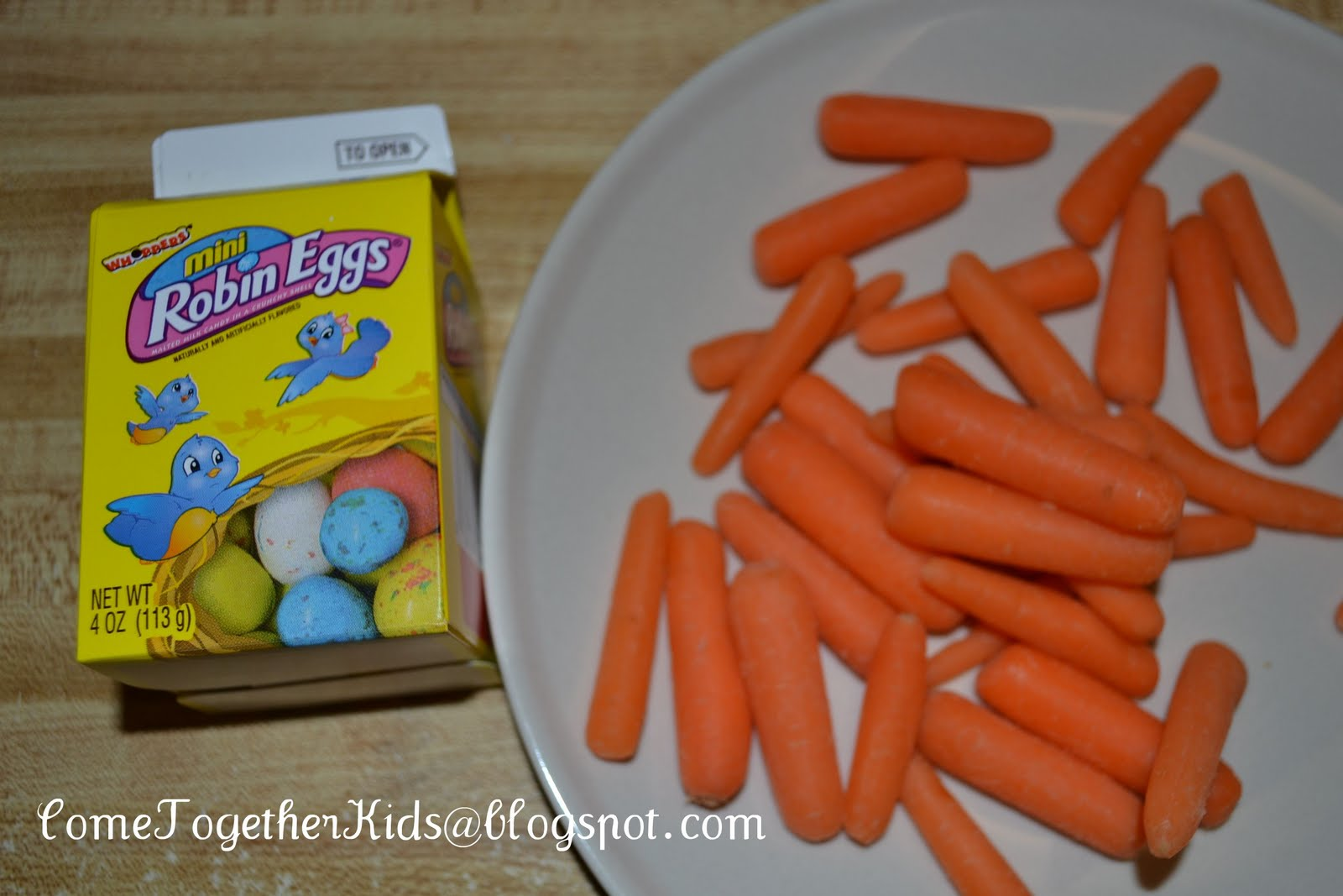 Carrots in a Candy Box | 25+ April Fools Day ideas