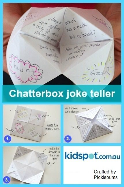 Chatterbox Joke Teller | 25+ April Fools Day ideas
