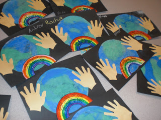 Coffee filter Earth Day Art | 25+ ways to celebrate Earth Day