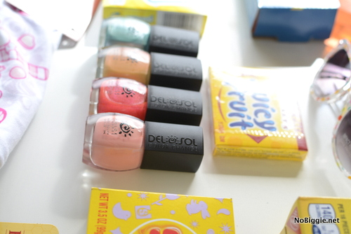 DelSol color change nail polish - perfect for a box of sunshine gift package   NoBiggie.net