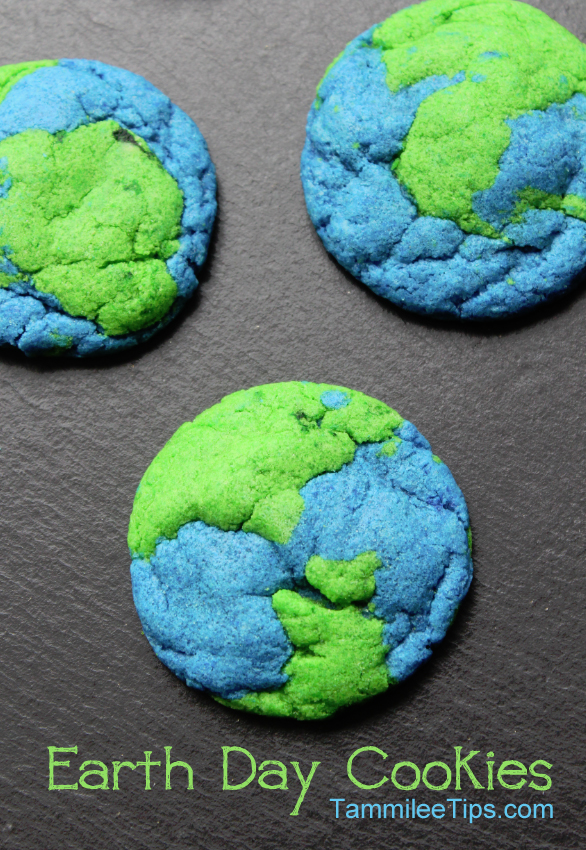 Earth Day Cookies | 25+ ways to celebrate Earth Day