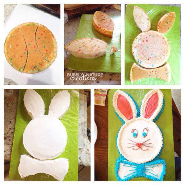 Easy Bunny Cake | 25+ Easter Sweet Treats