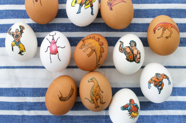 Get Inked! How to Tattoo Your Easter Eggs | 25+ ways to decorate Easter Eggs