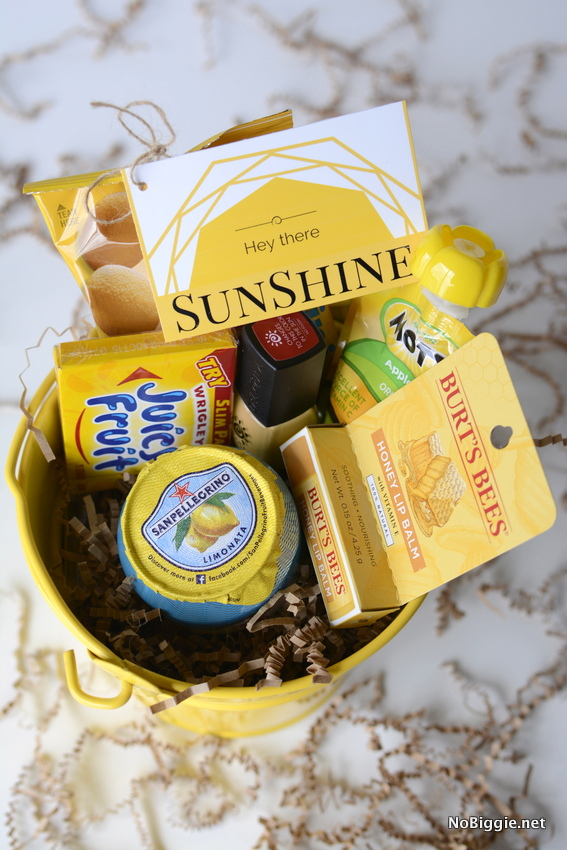 photograph about Basket of Sunshine Printable named Deliver a Box of Solar (totally free printables)